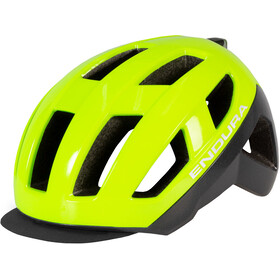 Endura Urban Luminite II Casco Hombre, neon yellow